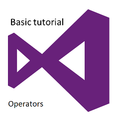 Tutorial Operator Visual Basic .Net