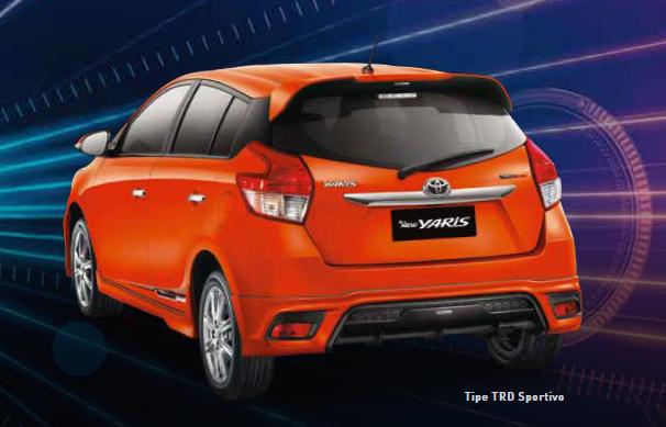 Spesifikasi All New Yaris Trd 2014 Toyota Modifikasi Tipe Sportivo Fitur Dan Harga