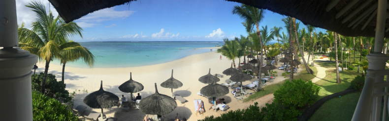 LUX Belle Mare Mauritius Beach