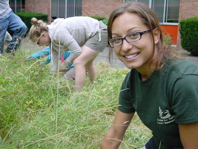 Prairie Demonstration Garden Spiffed Up by AmeriCorps Service Members