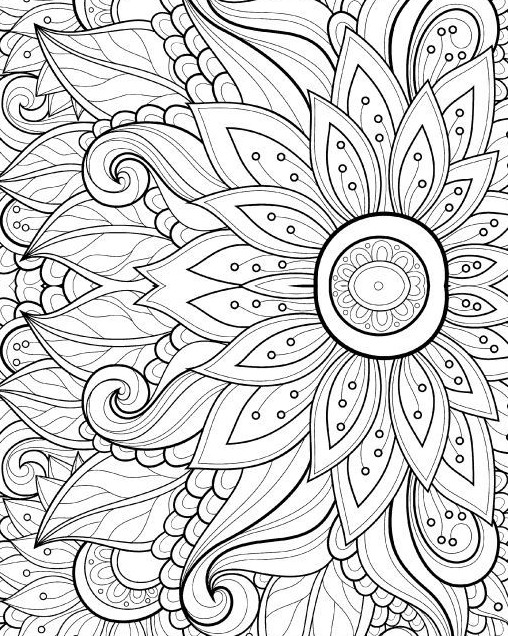 Mepham High School Library: MakerSpace: Adult Coloring Pages