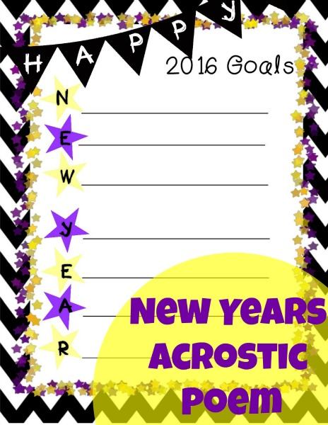 new years printable for kids