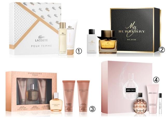 Coffret's perfumes