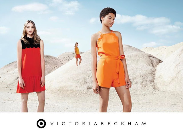 Victoria Beckham X Target 2017 Ad Campaign