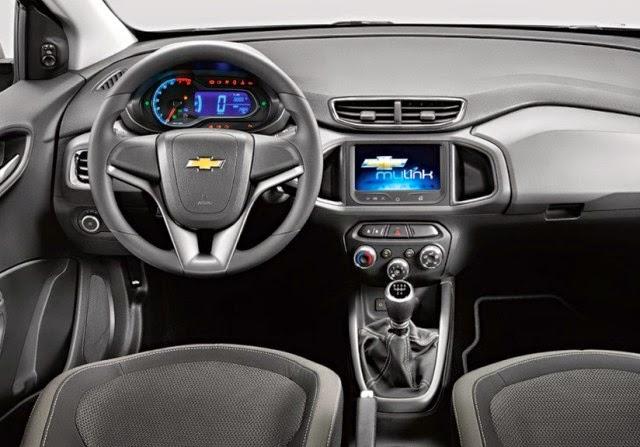 Novo Chevrolet Prisma 2015 interior