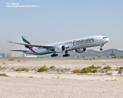 Boeing 777-31H(ER), A6-ECZ Emirates Airline