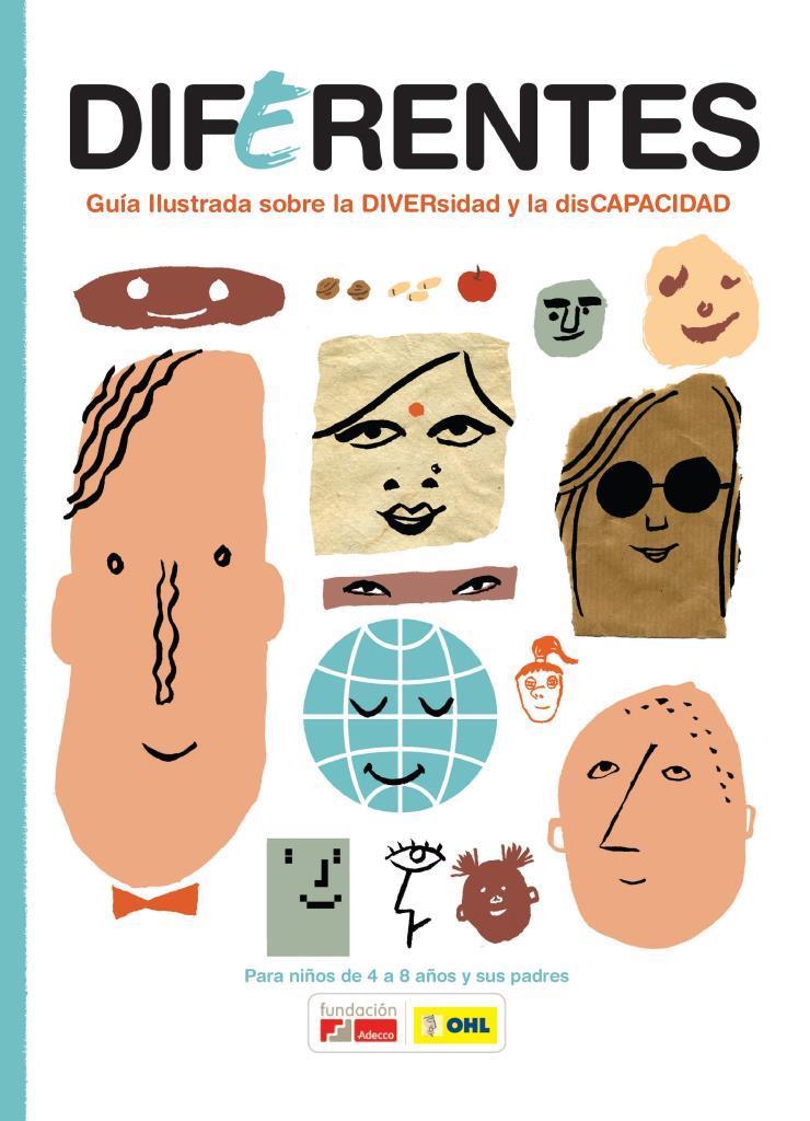 Diferentes: Guía ilustrada sobre la diversidad y la discapacidad