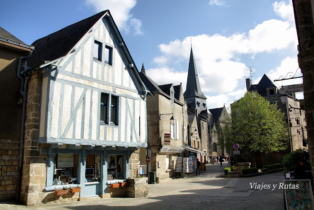 Rue du Bizienne, Guerande