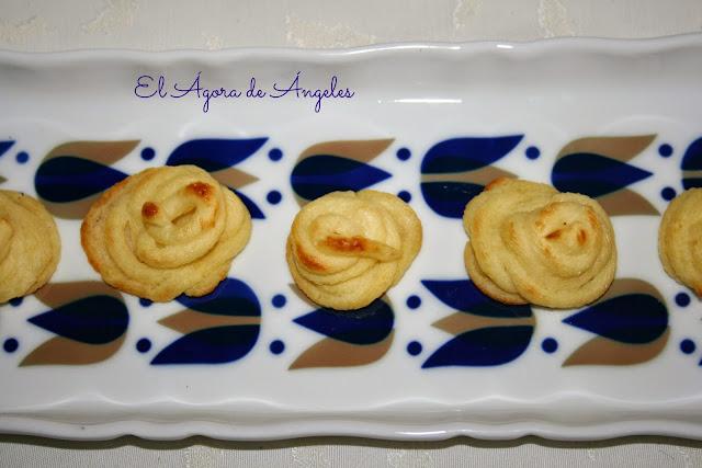 Patatas duquesa ,guarnición