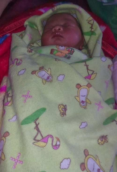 Gambar UnyuUnyu Foto Bayi Tidur Nyenyak Setelah Mandi