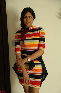 Adha Sharma in a Cute Colorful Jumpsuit Styled By Manasi Aggarwal Promoting movie Commando 2 (166).JPG