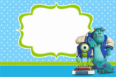 Monster university free printable party invitations oh my fiesta monster university free printable party invitations filmwisefo