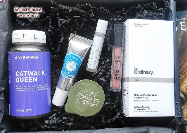 Lookfantastic Beauty Box февраль 2017 - наполнение