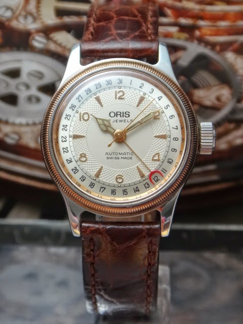 vintage oris exhibition automatic
