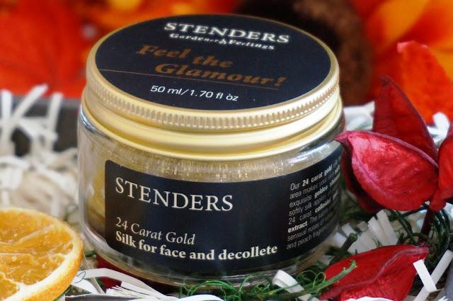 Krem zamiast rozświetlacza? 24-karatowy złoty jedwab do twarzy i dekoltu Stenders