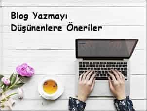 blog yazmak istiyorum