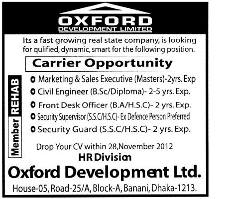 Oxford Development ltd.