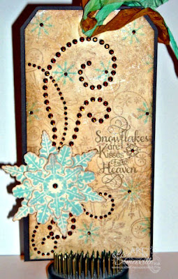 Stamps - Our Daily Bread Designs Snowflake Sentiments, Sparkling Snowflakes, Snowflake Mini Set, ODBD Custom Snowflake Dies