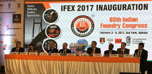 Photo caption pic 2 - Key Industry Dignitaries present at IFEX 2017 held at Kolkata