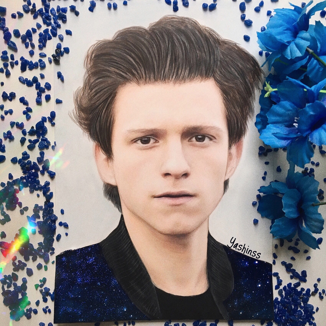 01-Tom-Holland-Vlad-Yashin-Realistic-Color-Pencil-Portraits-of-Celebrities-www-designstack-co