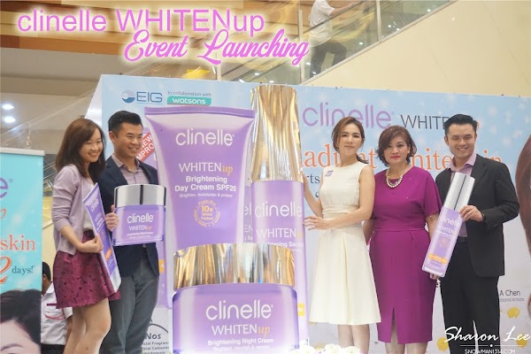 Clinelle WHITENup Event Launching with Ella Chen