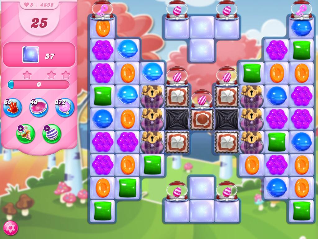 Candy Crush Saga level 4895