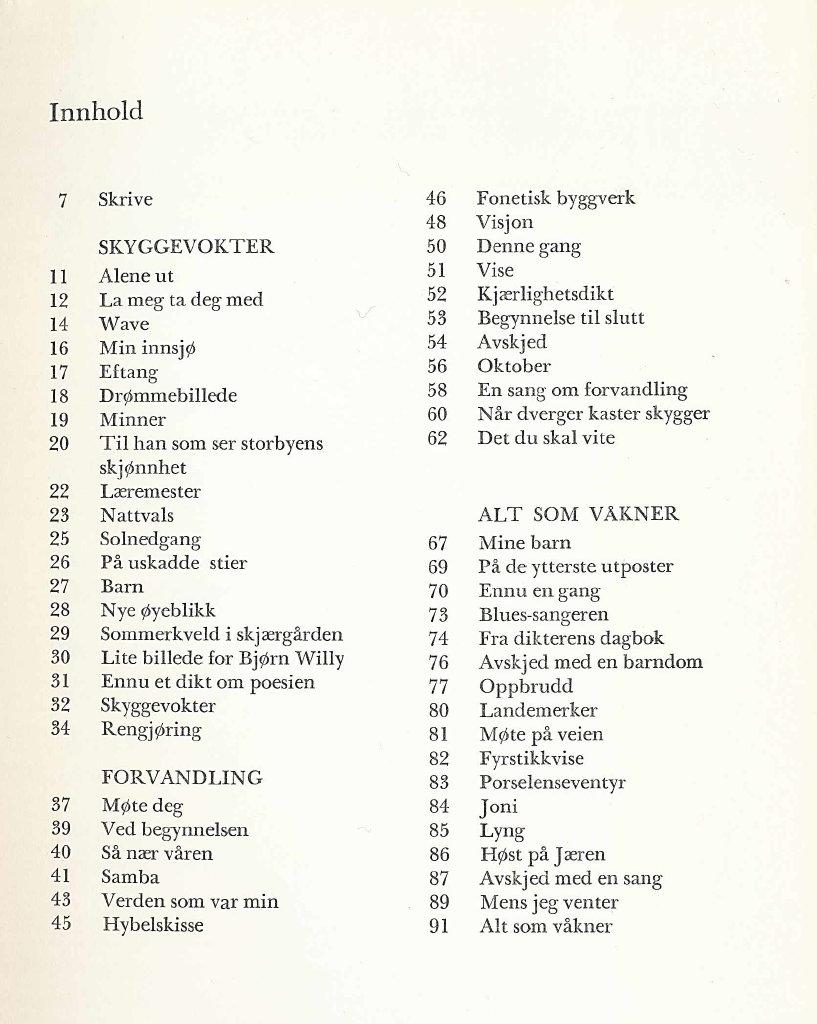 rolig 30 års dikt Reading Randi: Tanker om bok   Ketil Bjørnstad: Alene ut   Dikt rolig 30 års dikt