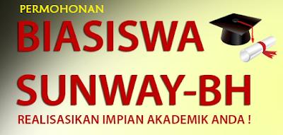 borang Permohonan Biasiswa Sunway-Berita Harian 2016