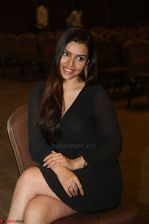 Kyra Dutta in black At Rogue Movie Audio Launch ~  032.JPG