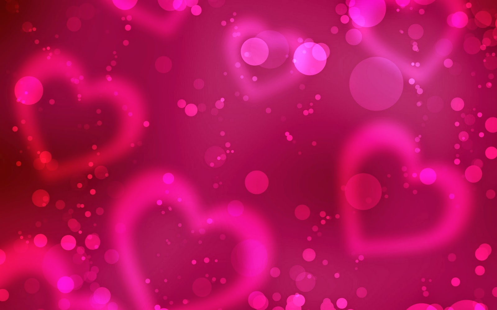 Romantic Love Heart Designs HD Cover Wallpaper