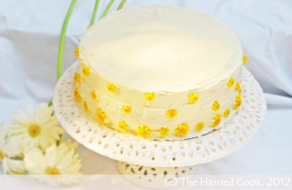 The Harried Cook: Sun Cake: Celebrating 100 posts & Summer!