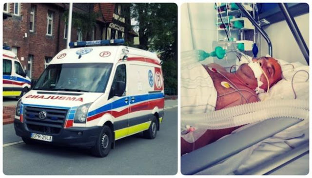 zdjęcie: siepomaga/ Tragedia ratownika medycznego. Przyjechał karetką ratować człowieka, dostał wylewu krwi do mózgu
