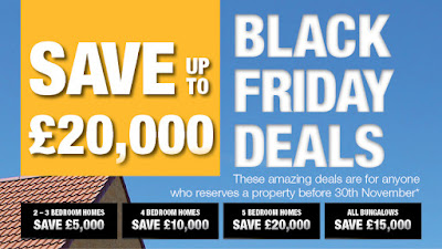 Black Friday deals on new homes