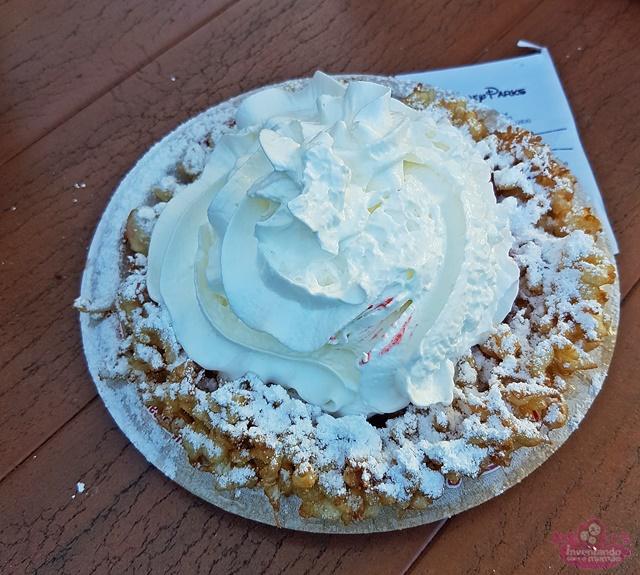 Onde encontrar funnel Cake nos parques da Disney