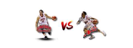 June 24: Ginebra vs Alaska, 6:45pm Smart Araneta Coliseum