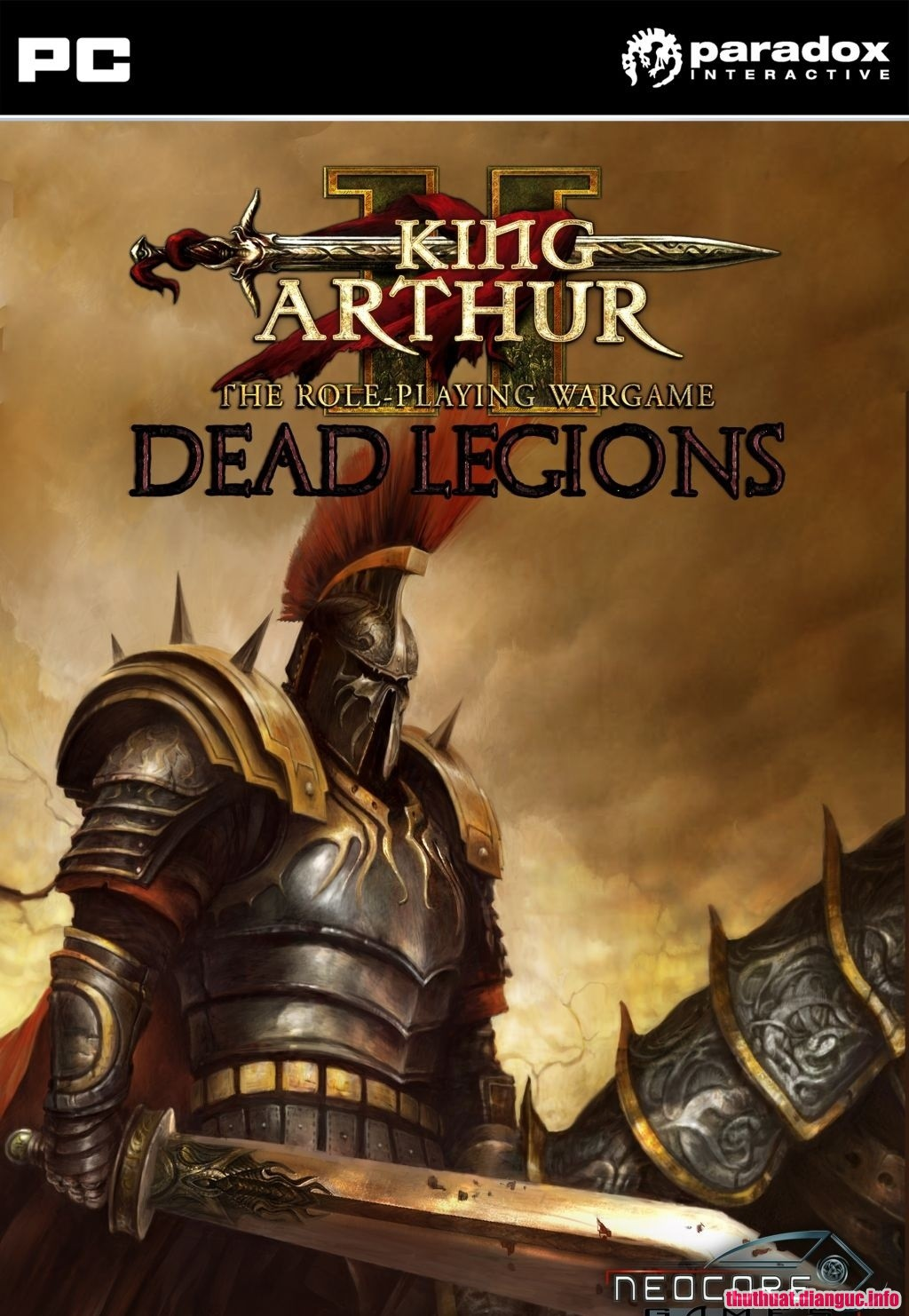 Download Game King Arthur II: Dead Legions Full crack
