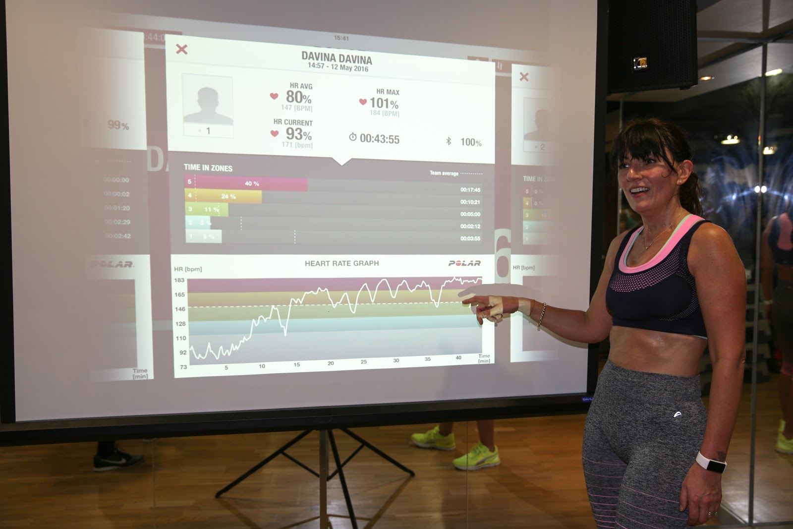 The Art Of Heart Rate Training with Davina McCall and Polar - keep