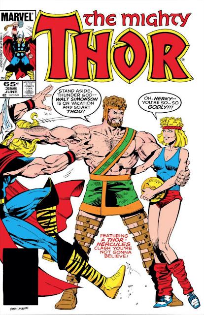 MEMÓRIA HQ: O dia que Hércules derrotou facilmente Thor?! (THOR #356)