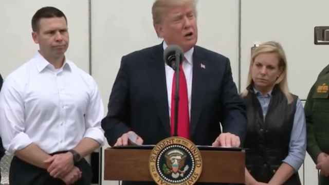 President Trump says without border wall 'we're not going to have a country'