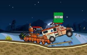 لعبة الدبابة المدمرة