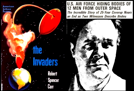 Robert Spencer Carr, The Aztec UFO Incident and Hangar 18