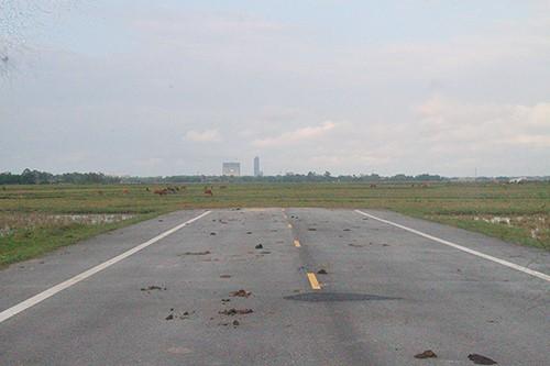 Đoạn đường cụt dự tính nối về đường Hàm Nghi, TP Hà Tĩnh