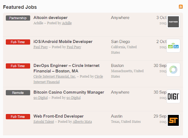 Coinality job board