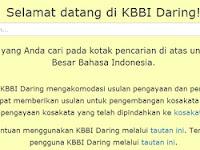 Kemdikbud Luncurkan KBBI Online Edisi Kelima