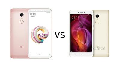 Xiaomi Redmi Note 5 vs Xiaomi Redmi Note 4 : Is it worth upgrading?