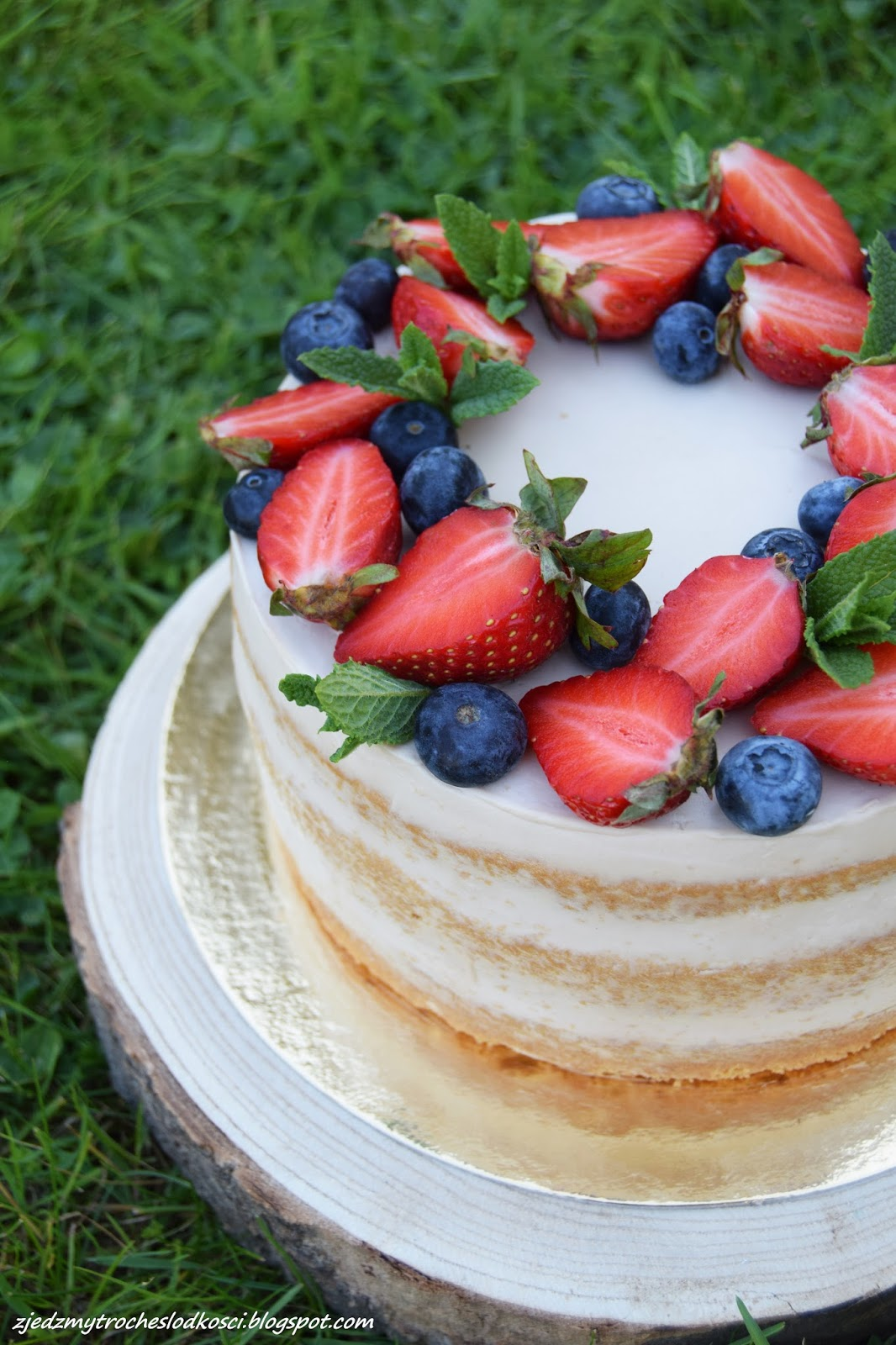 Zjedzmy Trochę Słodkości Tort Z Kremem Milky Way