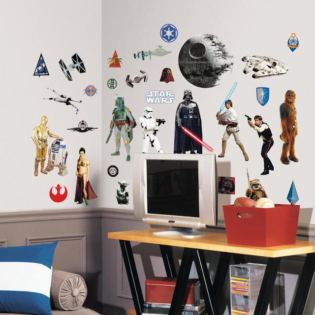star wars stickers for walls