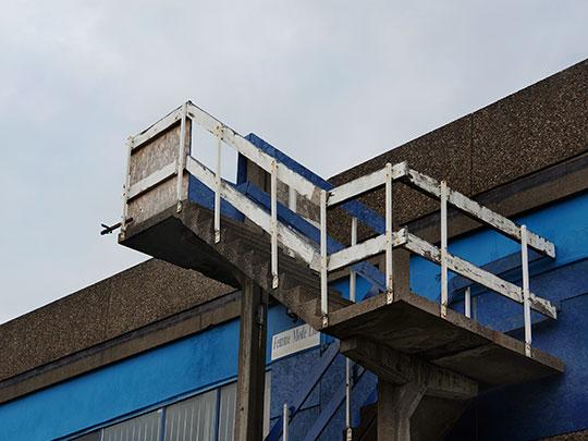 urban photography, urban decay, urban photo, contemporary, art, Sam Freek, old stairs,