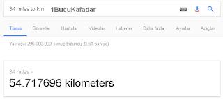 miles to km - Google