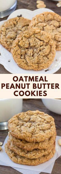 Peanut Butter Oatmeal Cookíes